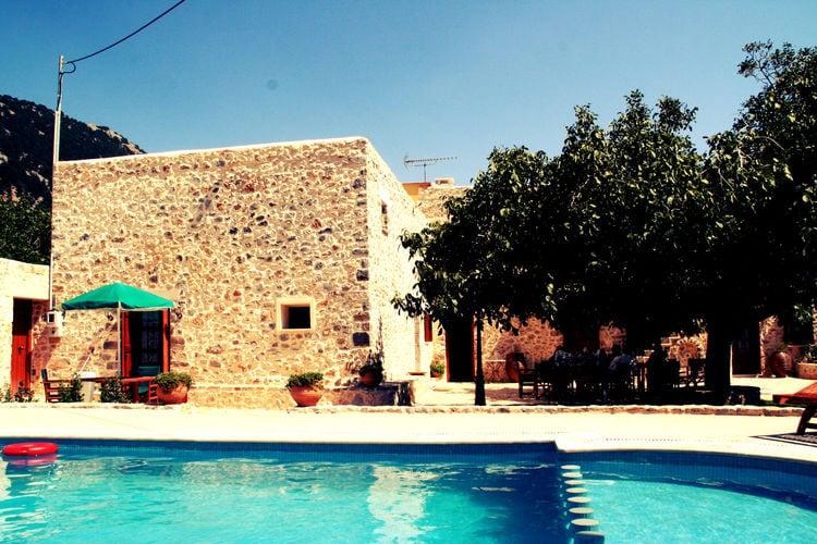 Vakantiehuizen Griekenland | Kreta | Villa te huur in Imbros-Sfakion met zwembad  met wifi 10 personen