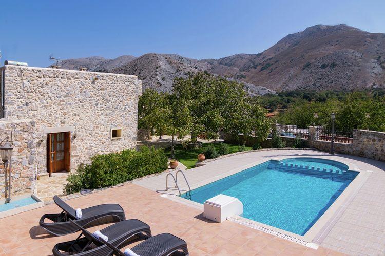 Griekenland | Kreta | Villa te huur in Imbros-Sfakion met zwembad  met wifi 10 personen