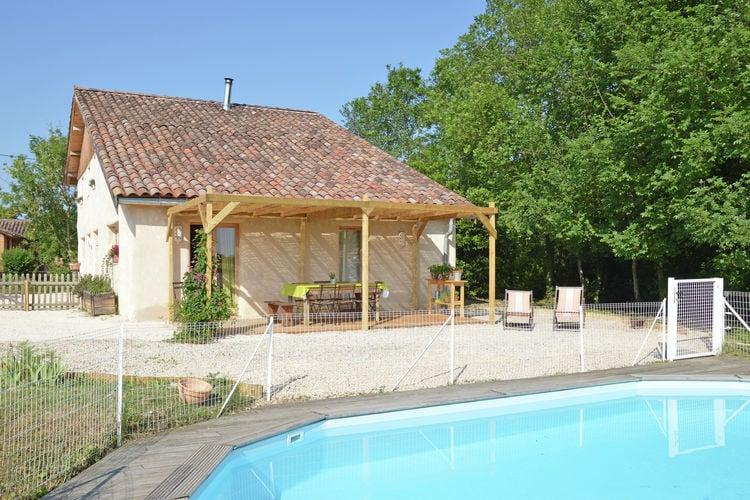 Frankrijk | Midi-Pyrenees | Villa te huur in Montadet met zwembad  met wifi 8 personen