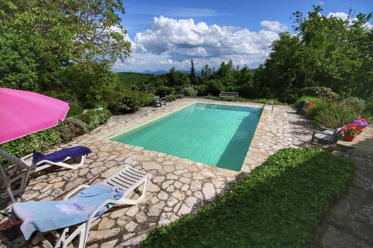 Villa Italië, Umbrie, Lippiano Villa IT-06010-21