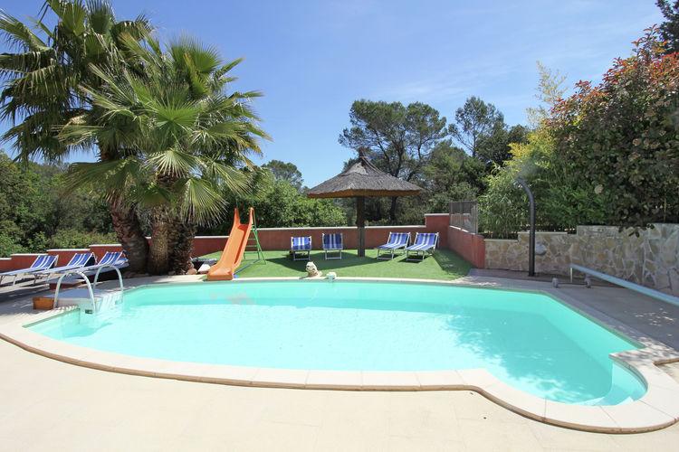 Villa met zwembad met wifi  Roquebrune-sur-ArgensPetit Palmeraie