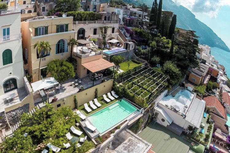 Vakantiehuizen Italie | Campania | Villa te huur in Positano met zwembad  met wifi 12 personen