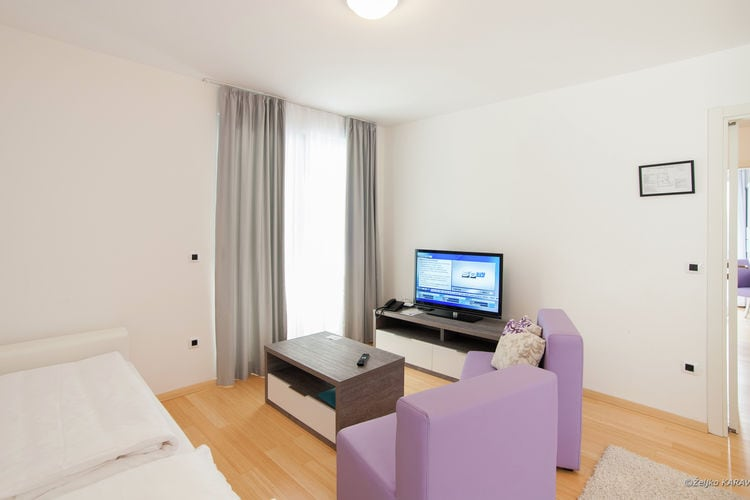 Appartement Kroatië, Dalmatie, Petrcane Appartement HR-23231-09