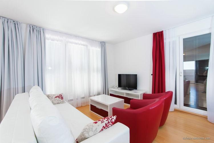 Appartement Kroatië, Dalmatie, Petrcane Appartement HR-23231-10