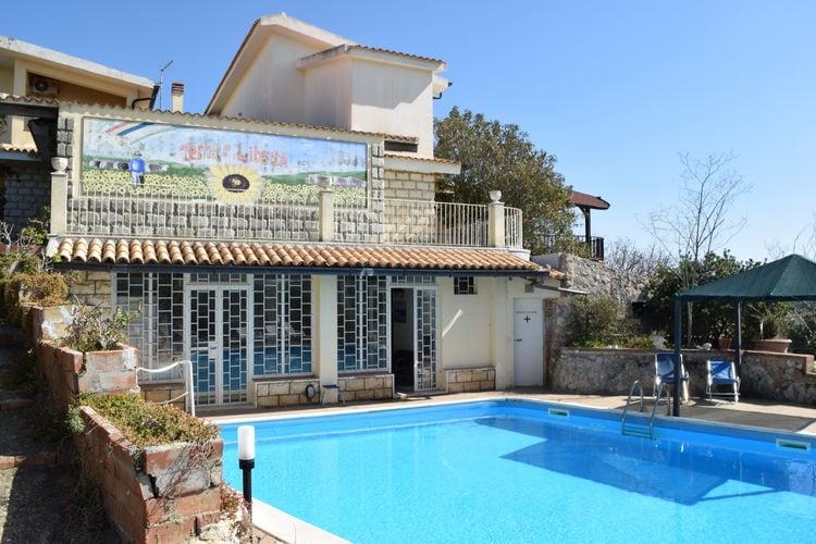 Vakantiehuizen Italie | Sicilia | Villa te huur in Siracusa met zwembad  met wifi 6 personen
