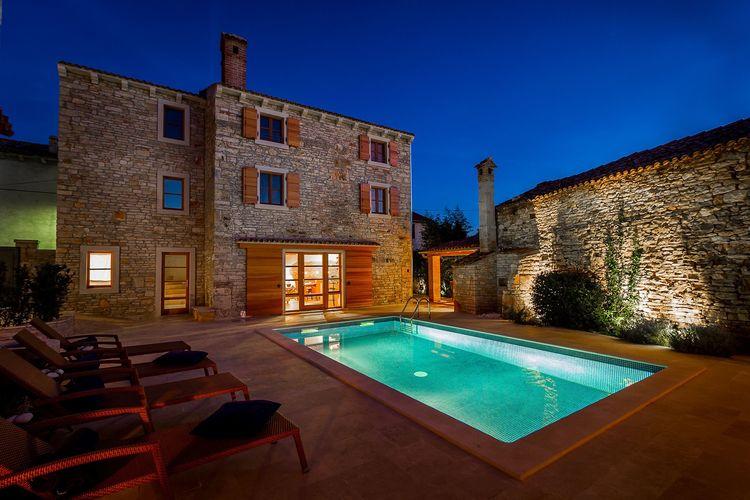 Kroatie | Istrie | Villa te huur in Sisan met zwembad  met wifi 10 personen