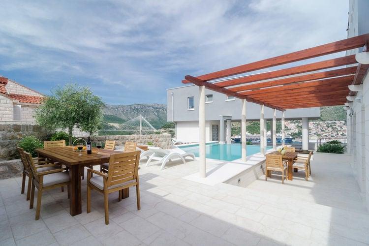 Appartement huren in  Kroatie - met zwembad  met wifi met zwembad voor 4 personen  Prachtig penthouse op de tweede ve..