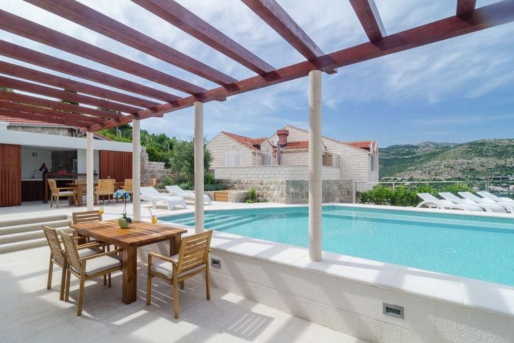 Appartement huren in  Kroatie - met zwembad  met wifi met zwembad voor 4 personen  Midden in Lapad vindt u dit modern..
