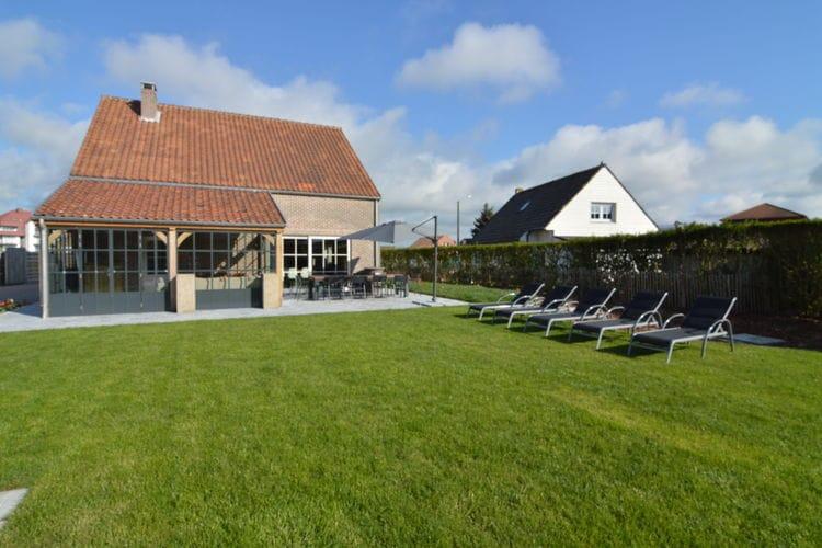 MIDDELKERKE Vakantiewoningen te huur Vrijstaand vakantiehuis met jacuzzi, sauna, privacy, loopafstand van het strand