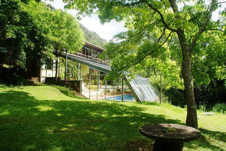 Vakantiehuizen Spanje | Catalunia | Vakantiehuis te huur in Riudaura met zwembad  met wifi 12 personen