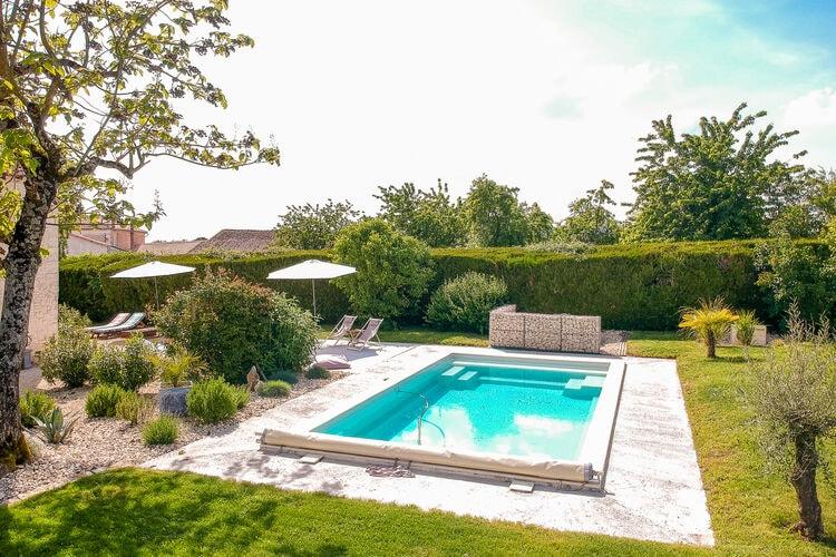 Frankrijk | Dordogne | Vakantiehuis te huur in Villiers-Couture met zwembad  met wifi 8 personen