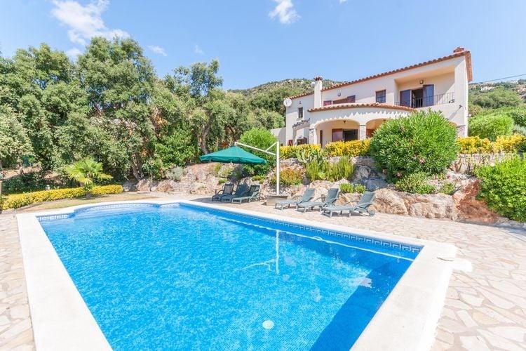 Villas Spanje | Costa-Brava | Villa te huur in Calonge met zwembad  met wifi 6 personen