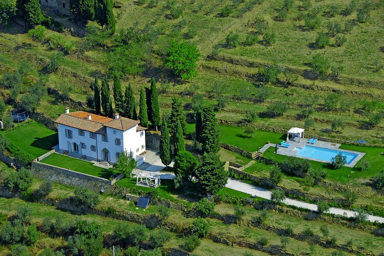 Villa Italië, Toscana, Pian di Sco