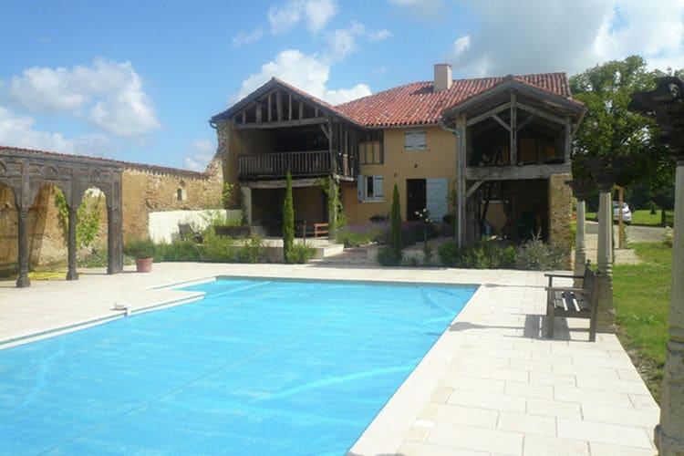 Vakantiehuizen Perchede te huur Perchède- FR-32460-01 met zwembad  met wifi te huur