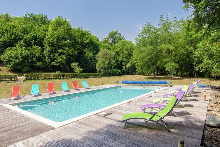Vakantiehuizen Frankrijk | Dordogne | Vakantiehuis te huur in St-Medard-Dexcideuil met zwembad  met wifi 12 personen