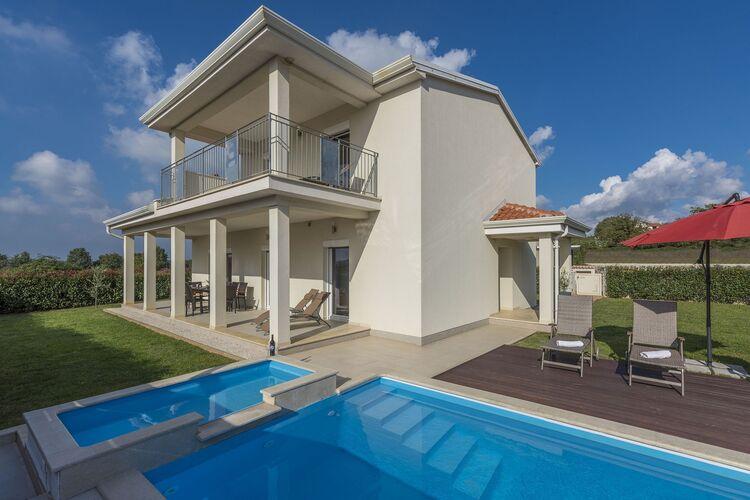 Villa Kroatië, Istrie, Dračevac Villa HR-52440-49
