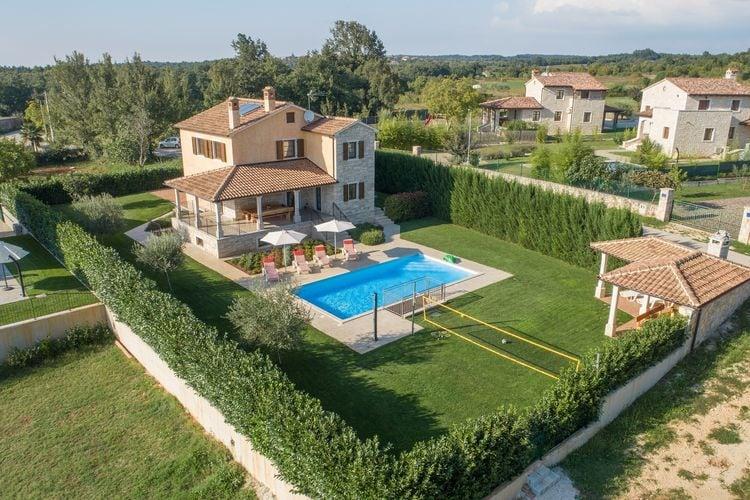 Villa Kroatië, Istrie, Dubravci Villa HR-52352-04