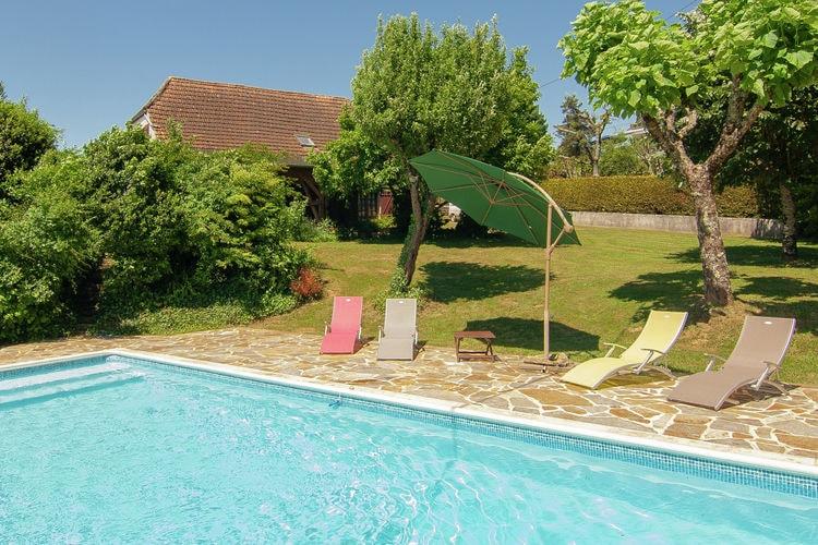 Vakantiehuizen Frankrijk | Dordogne | Vakantiehuis te huur in Salagnac met zwembad  met wifi 8 personen