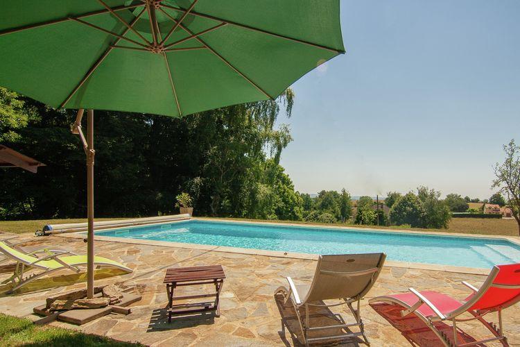 Frankrijk | Dordogne | Vakantiehuis te huur in Salagnac met zwembad  met wifi 8 personen