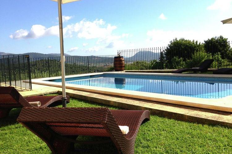 Vakantiehuizen Buger te huur Búger- ES-07311-09 met zwembad  met wifi te huur