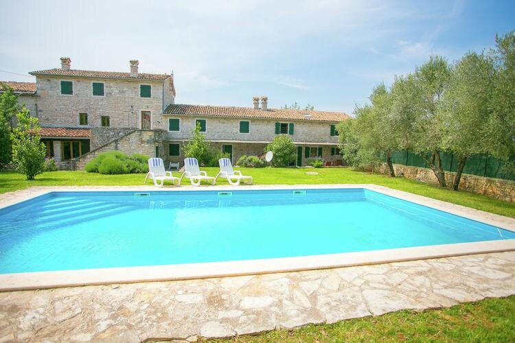 Vakantiehuizen Kroatie | Istrie | Boerderij te huur in Sveti-Lovrec met zwembad  met wifi 5 personen
