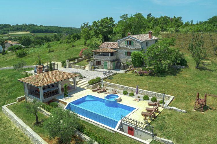 Villa Kroatië, Istrie, Vizinada Villa HR-52447-11