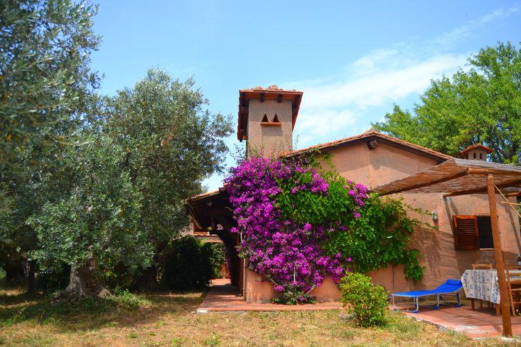 Vakantiehuizen Italie | Toscana | Vakantiehuis te huur in Porto-Santo-Stefano   met wifi 6 personen