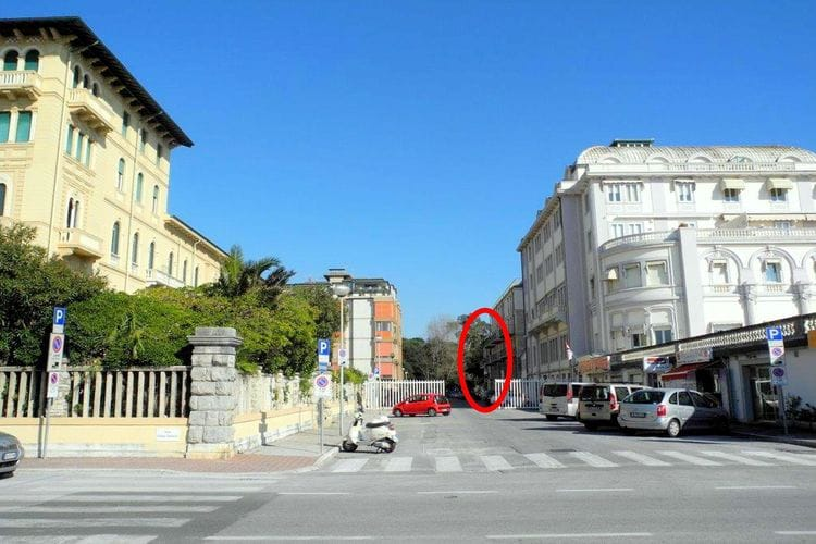 Viareggio Vakantiewoningen te huur Viareggio Miraggio Sei