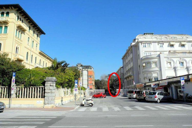 Viareggio Vakantiewoningen te huur Vakantie-appartement in het centrum van Viareggio op loopafstand van het strand