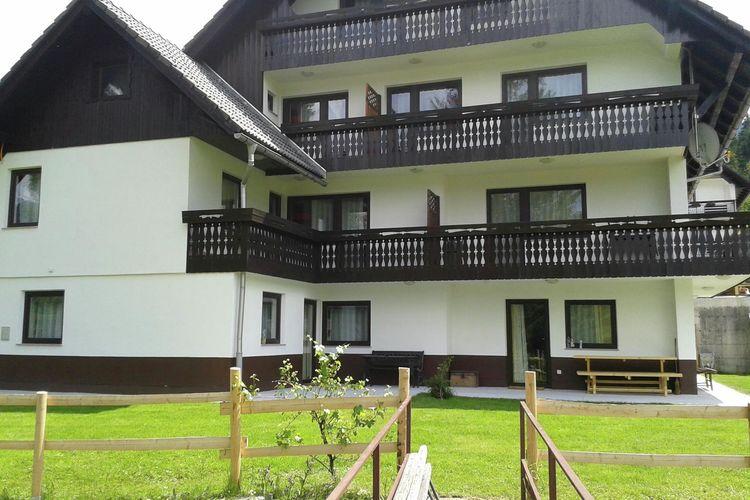 Appartement Slovenië, West Kust, Bohinjska Bistrica Appartement SI-04264-12