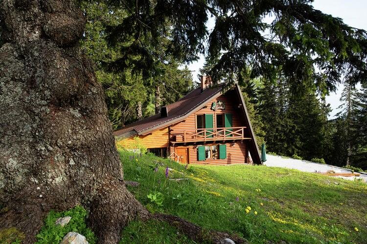 Vakantiewoning Slovenië, Centraal Luibljana, Cerklje na Gorenjskem Chalet SI-04207-02