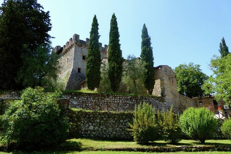 Kasteel met zwembad met wifi  ToscanaAntica Dimora