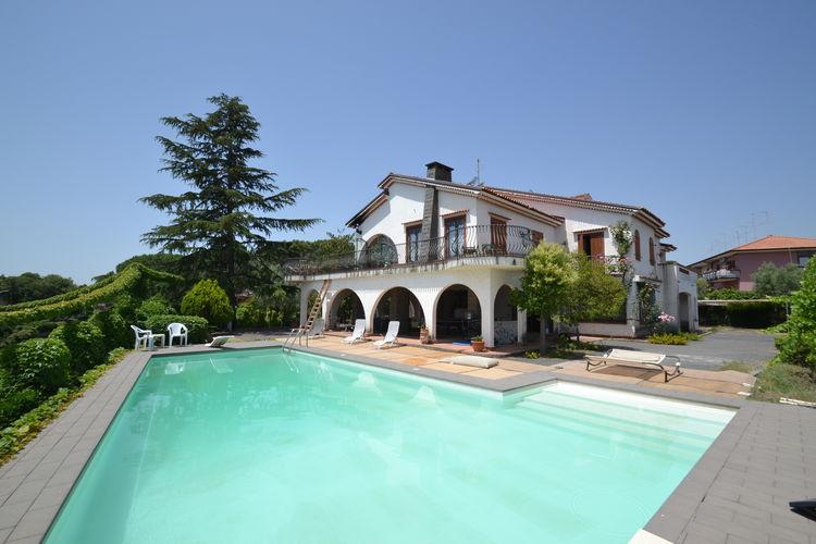 Italie / Sicilia | Villa met zwembad met wifi  - Trecastagni  il Portico
