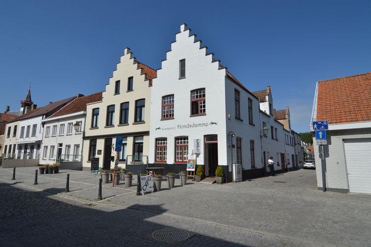 Damme Vakantiewoningen te huur Knus en gezellig ingericht appartement in huis met trapgevel nabij Brugge