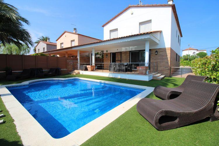 Vakantiehuis met zwembad met wifi  EmpuriabravaEl Pani