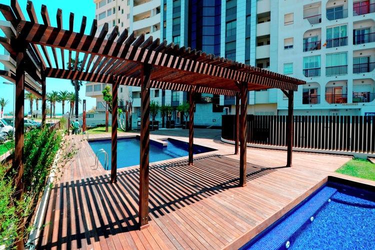 Spanje | Costa-Brava | Appartement te huur in Empuriabrava met zwembad  met wifi 6 personen