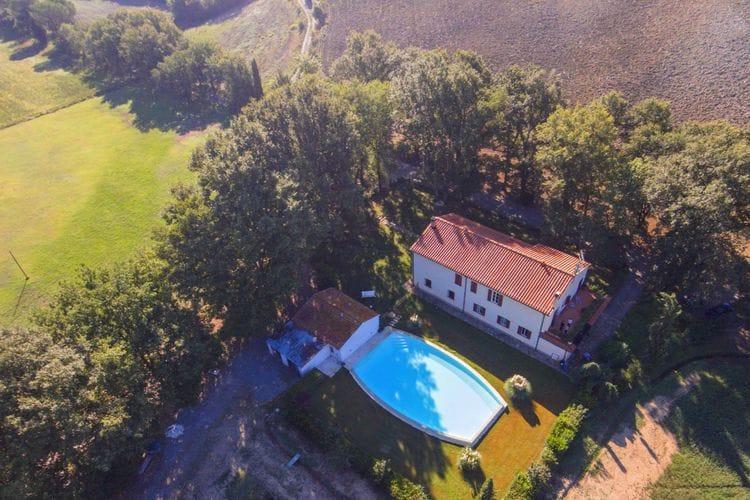 Vakantiehuis met zwembad met wifi  ToscanaCasasellate