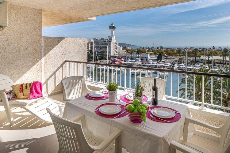 Vakantiehuizen Spanje | Costa-Brava | Vakantiehuis te huur in Empuriabrava   met wifi 5 personen