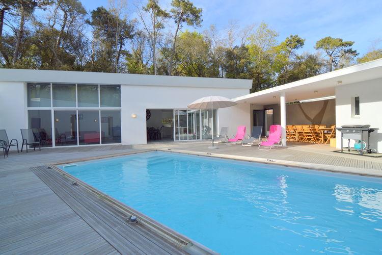 Villa met zwembad met wifi  Longeville sur mer  Les pieds dans l