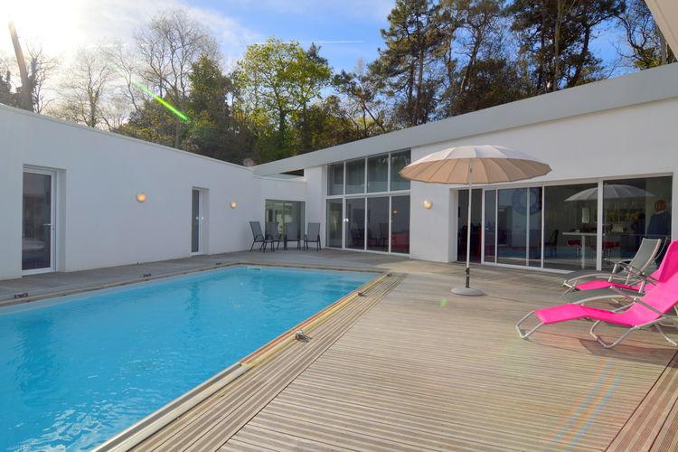 Villa huren in Pays de la loire - met zwembad  met wifi met zwembad voor 8 personen  Luxe villa met enerzijds de rust v..