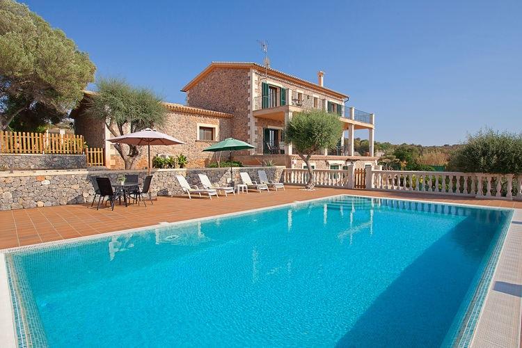 Vakantiehuis met zwembad met wifi  MallorcaAlqueria
