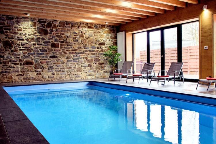 Vakantiehuis met zwembad met wifi  WaimesPays des Sources