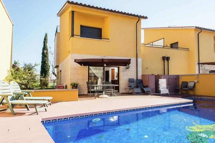 Vakantiehuizen Spanje | Costa-Brava | Vakantiehuis te huur in Sant-Pere-Pescador met zwembad  met wifi 6 personen