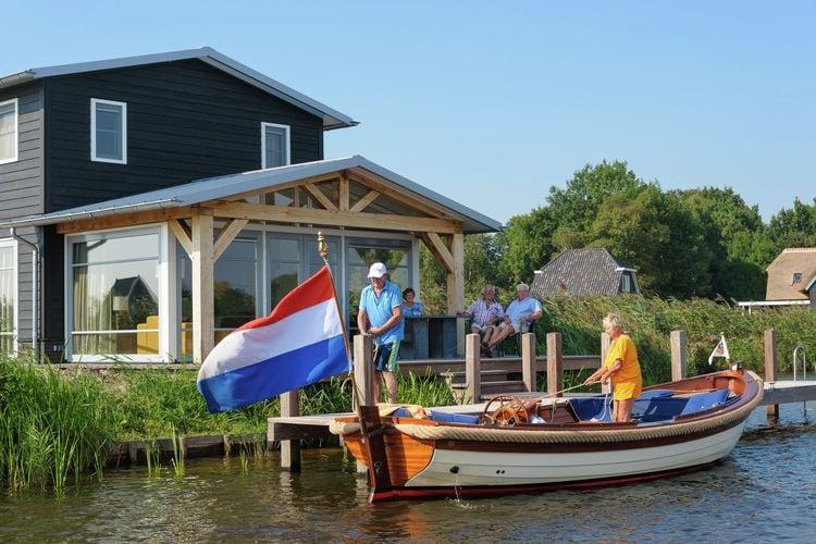 Villa Nederland, Overijssel, Giethoorn Villa NL-8355-24