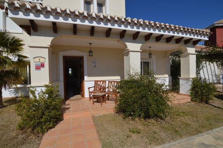 Vakantiehuis met privézwembad op Mar Menor Golf Resort