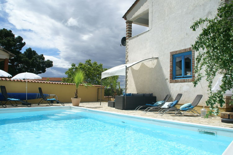 Villa Kroatië, Istrie, Kastelir Labinci Villa HR-00686-01