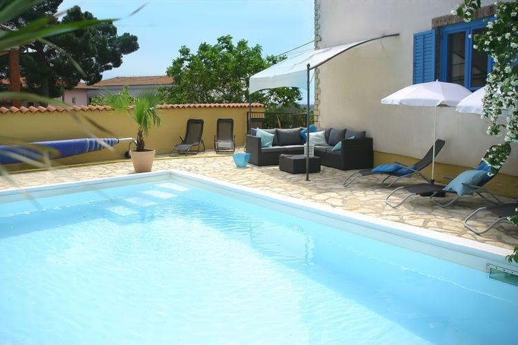 Kroatie | Istrie | Villa te huur in Kastelir-Labinci met zwembad  met wifi 8 personen