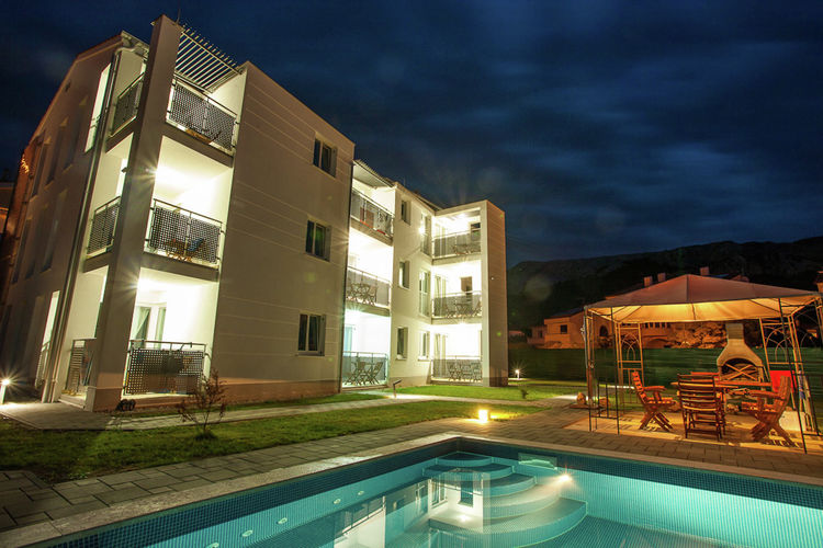 Ferienwohnung Adorami Apartments 1 (1606080), Baška, Insel Krk, Kvarner, Kroatien, Bild 5