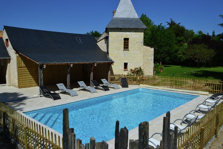 Frankrijk | Pays-de-la-loire | Vakantiehuis te huur in Brion met zwembad  met wifi 2 personen