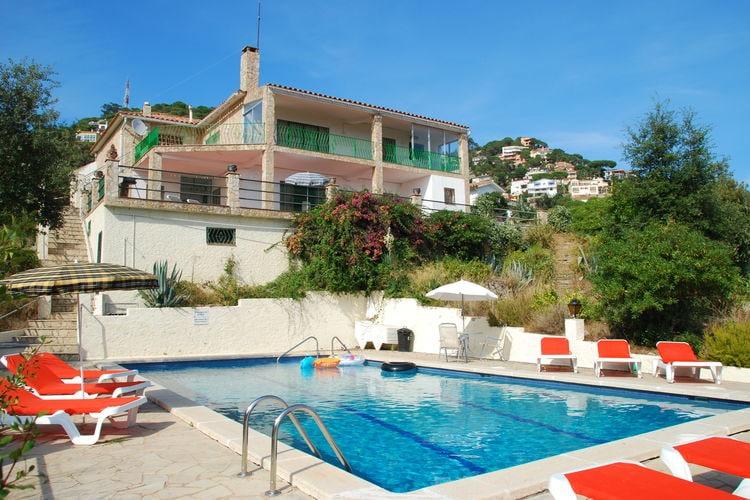 Vakantiehuizen Spanje | Costa-Brava | Vakantiehuis te huur in Lloret-de-mar met zwembad  met wifi 4 personen